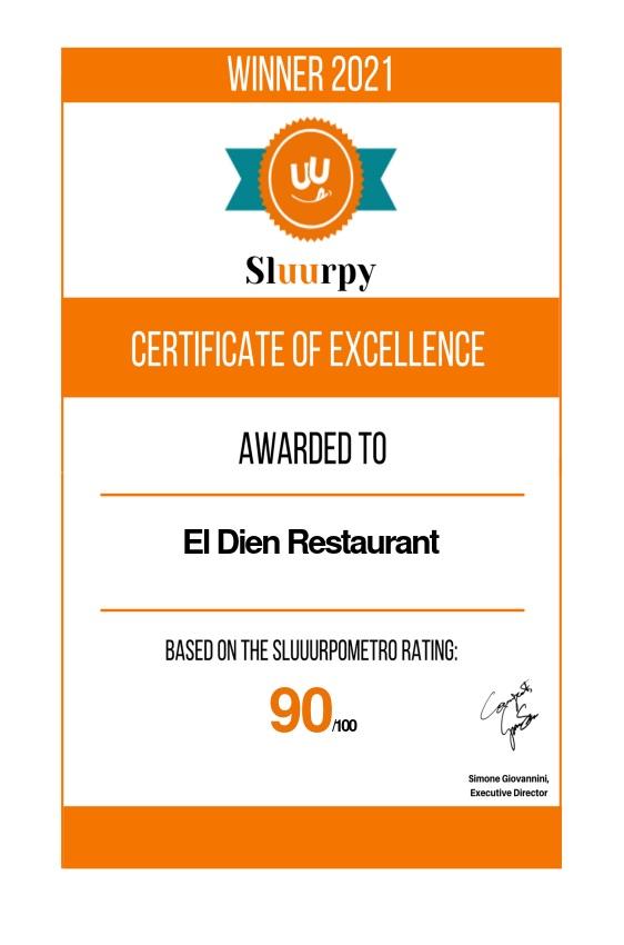 El Dien Restaurant - Sluurpy